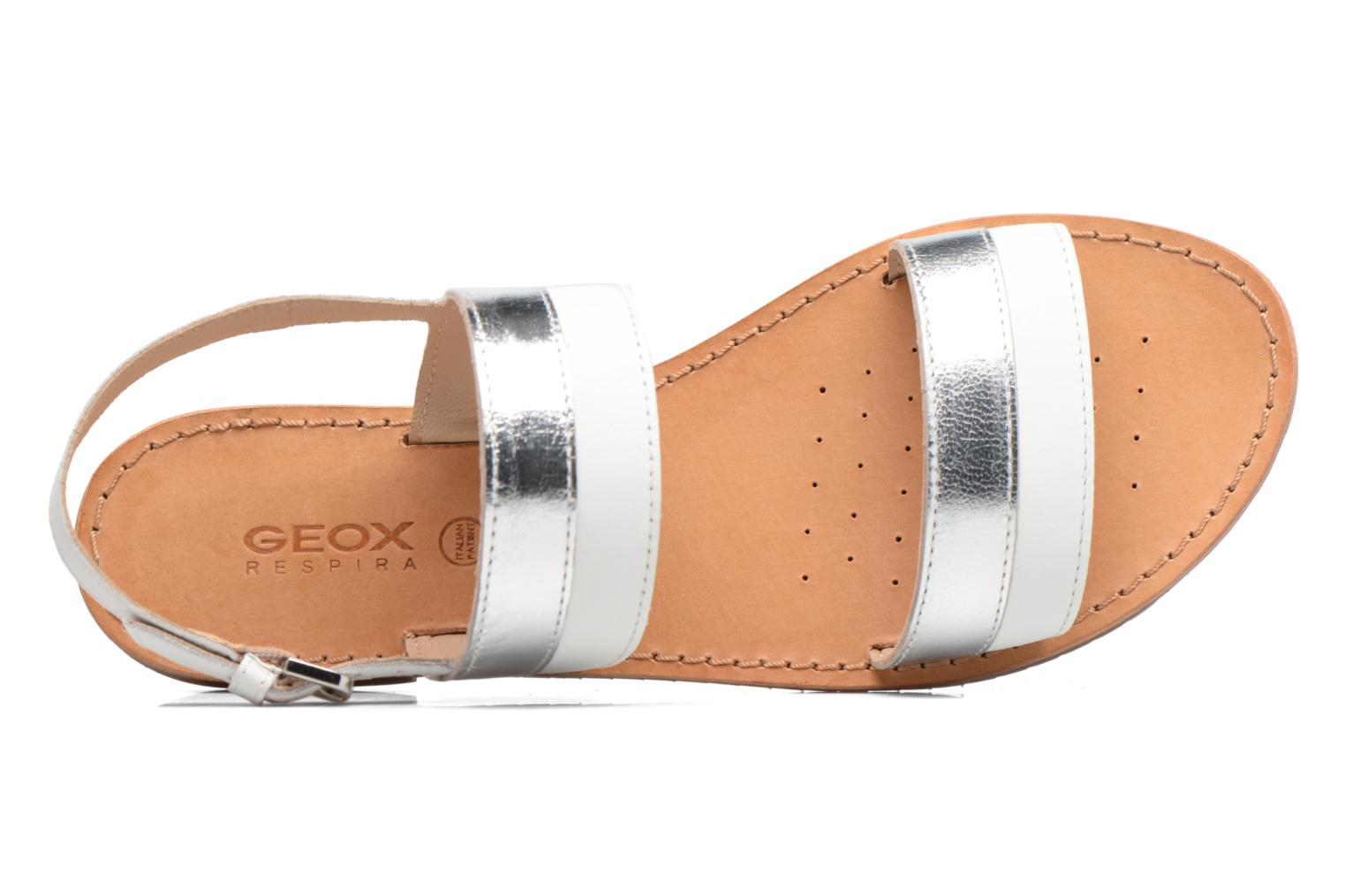 Sandals Geox D SOZY F D722CF White view from the left