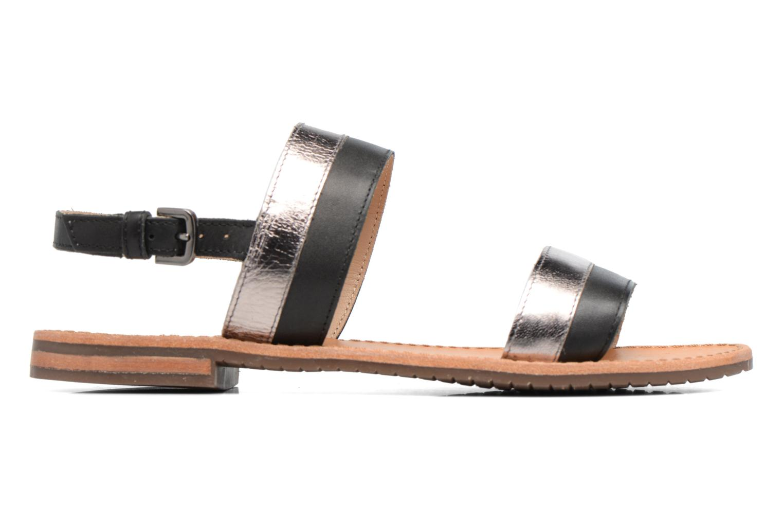 Sandals Geox D SOZY F D722CF Black back view