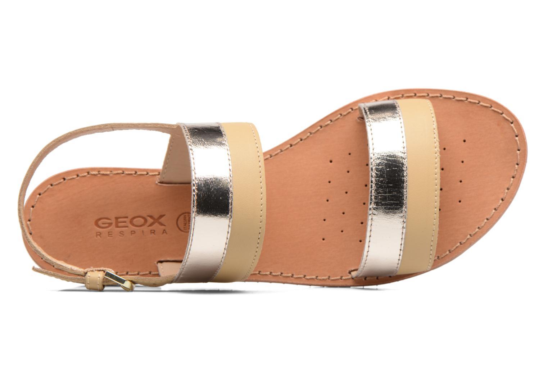 Sandaler Geox D SOZY F D722CF Beige se fra venstre