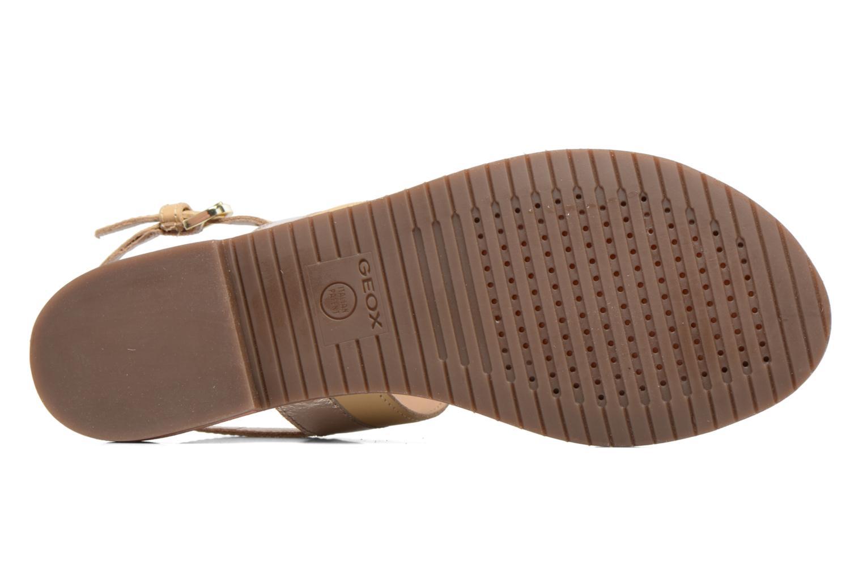 Sandaler Geox D SOZY F D722CF Beige se foroven