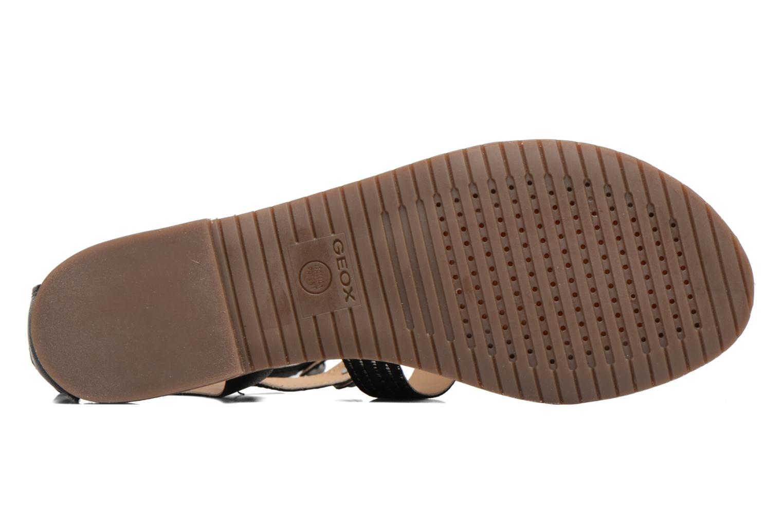 Sandalen Geox D SOZY G D722CG Zwart boven
