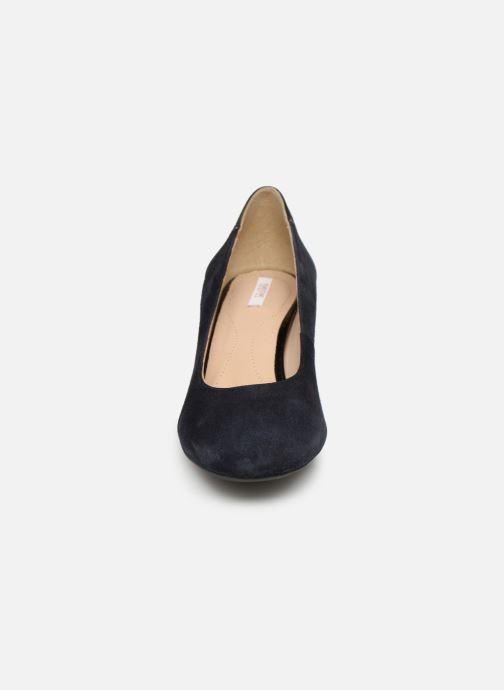 Escarpins Geox D AUDALIES M.C D723YC Bleu vue portées chaussures