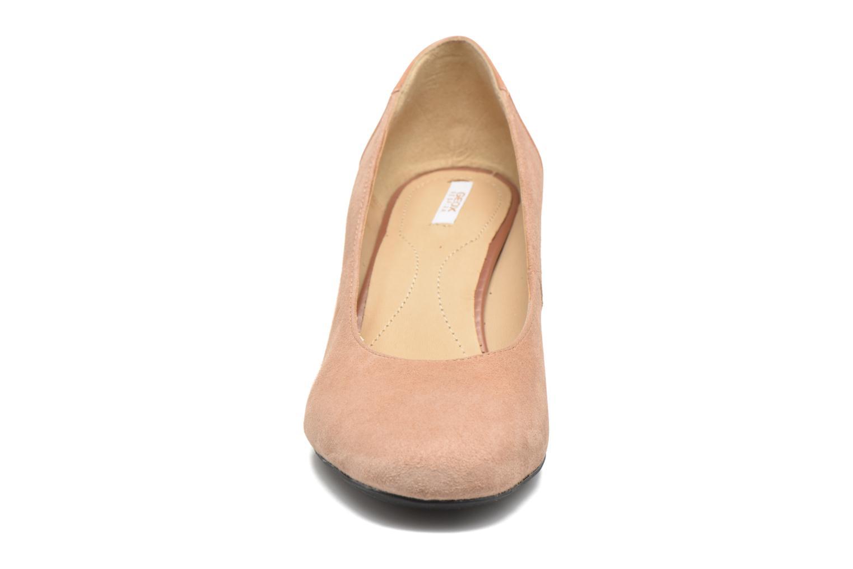 Escarpins Geox D AUDALIES M.C D723YC Rose vue portées chaussures