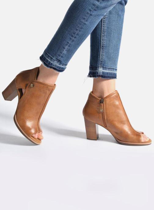 Boots en enkellaarsjes Geox D NEW CALLIE B D7240B Bruin onder