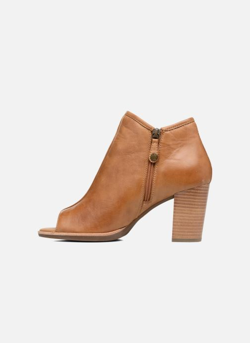 Boots en enkellaarsjes Geox D NEW CALLIE B D7240B Bruin voorkant