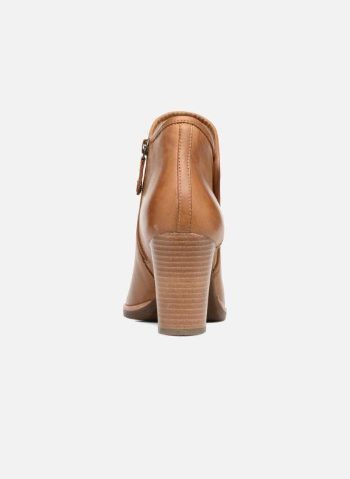 Boots en enkellaarsjes Geox D NEW CALLIE B D7240B Bruin rechts