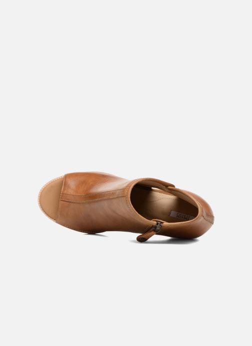 Boots en enkellaarsjes Geox D NEW CALLIE B D7240B Bruin links