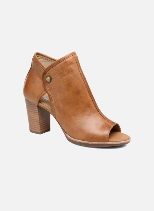 Boots en enkellaarsjes Geox D NEW CALLIE B D7240B Bruin detail