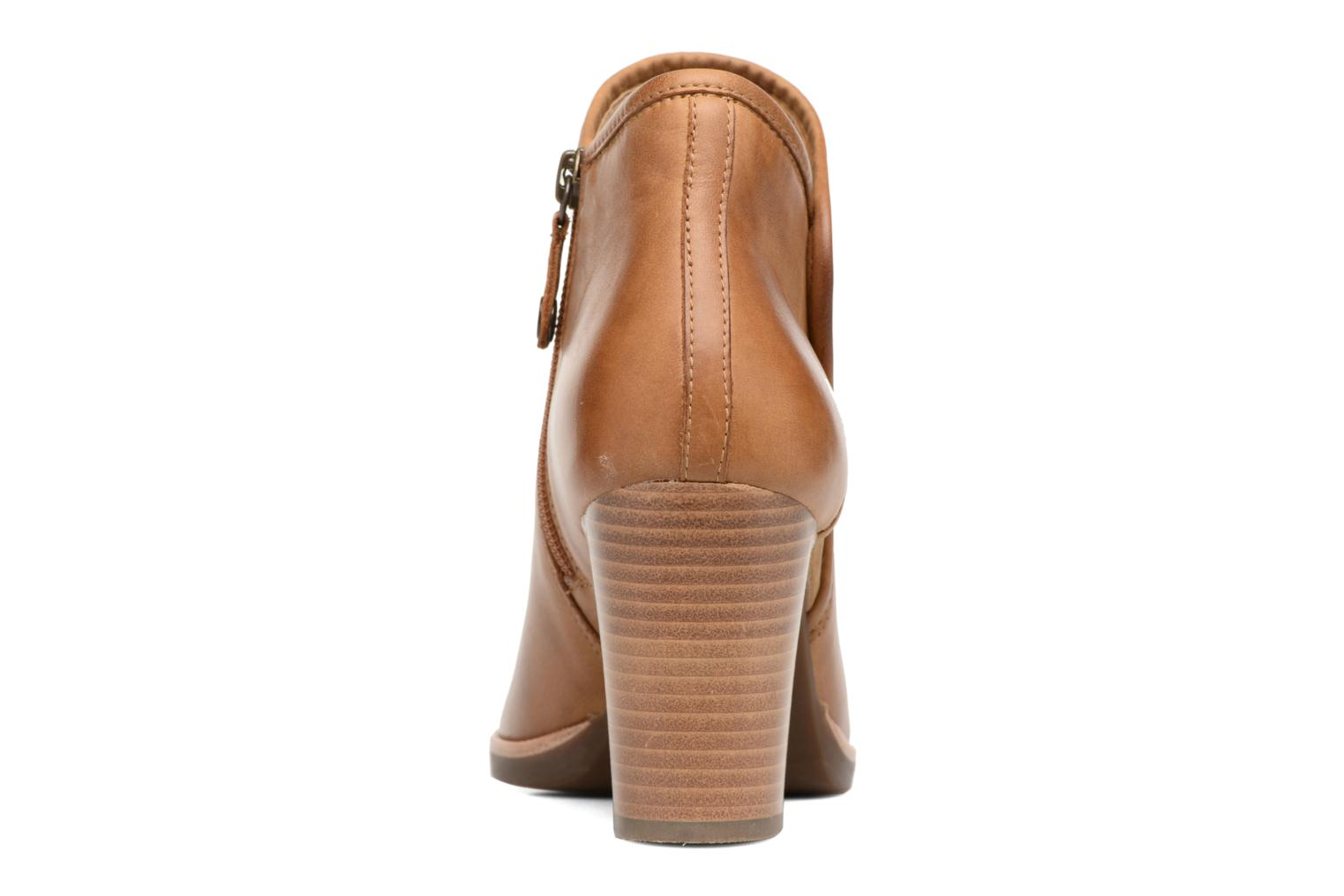 Ankle boots Geox D NEW CALLIE B D7240B Brown view from the right