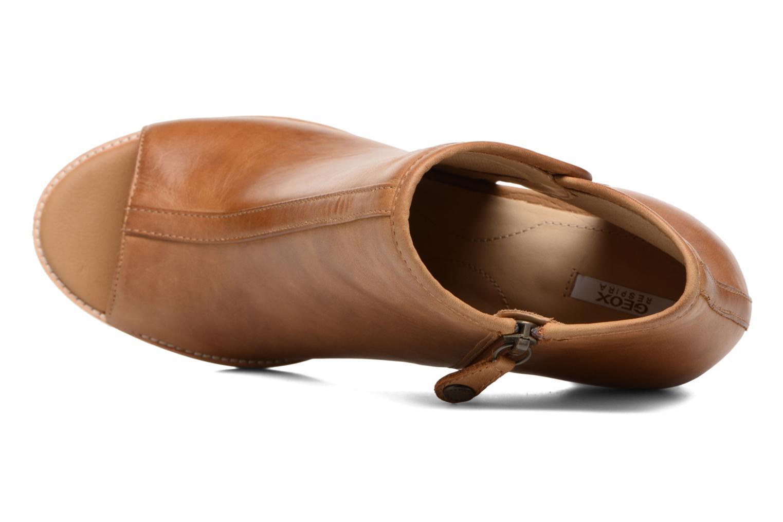Stiefeletten & Boots Geox D NEW CALLIE B D7240B braun ansicht von links