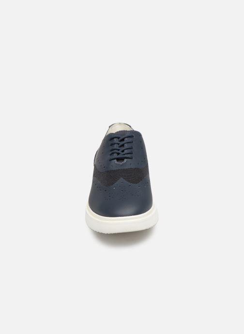 Chaussures à lacets Geox D THYMAR B D724BB Bleu vue portées chaussures