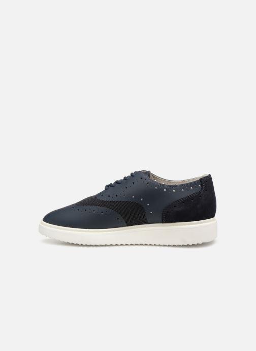 Chaussures à lacets Geox D THYMAR B D724BB Bleu vue face