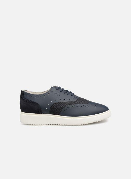 Chaussures à lacets Geox D THYMAR B D724BB Bleu vue derrière