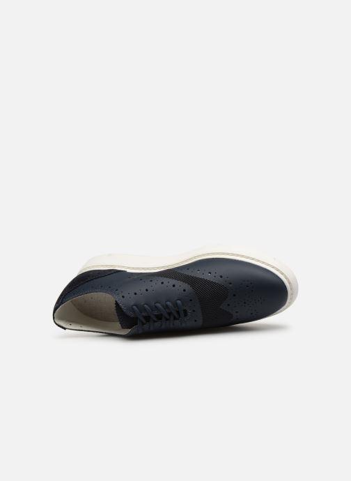 Chaussures à lacets Geox D THYMAR B D724BB Bleu vue gauche