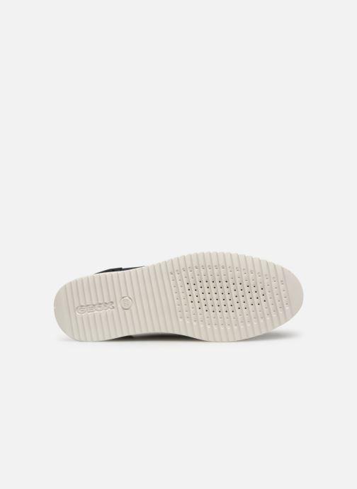 Chaussures à lacets Geox D THYMAR B D724BB Bleu vue haut