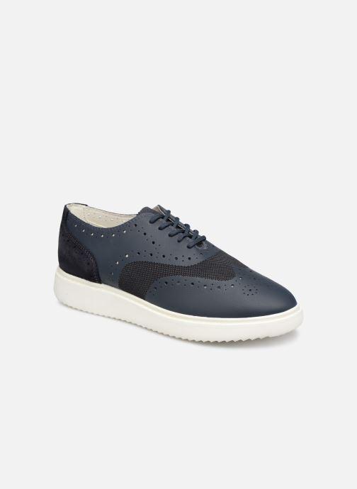 Chaussures à lacets Geox D THYMAR B D724BB Bleu vue détail/paire
