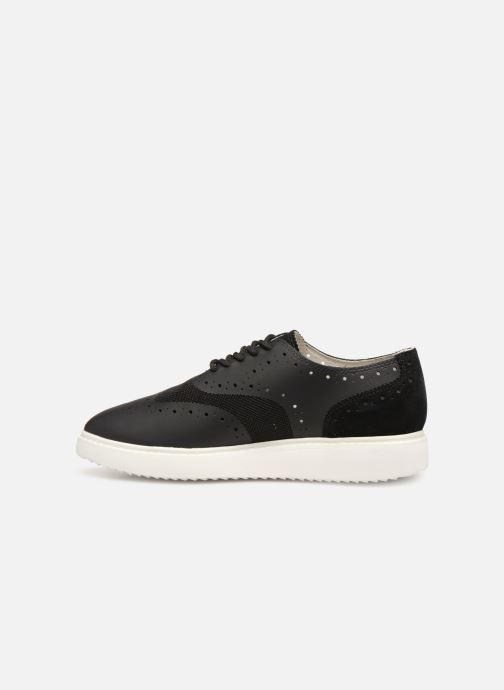 Zapatos con cordones Geox D THYMAR B D724BB Negro vista de frente