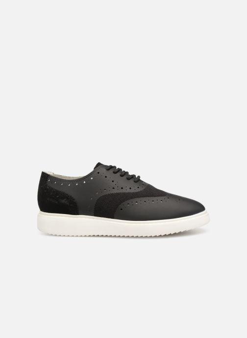 Zapatos con cordones Geox D THYMAR B D724BB Negro vistra trasera