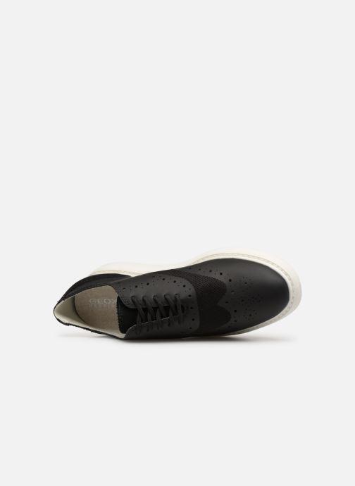Zapatos con cordones Geox D THYMAR B D724BB Negro vista lateral izquierda