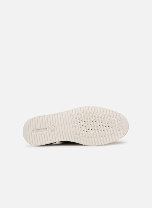 Zapatos con cordones Geox D THYMAR B D724BB Negro vista de arriba
