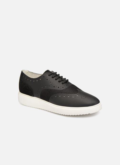 Zapatos con cordones Geox D THYMAR B D724BB Negro vista de detalle / par