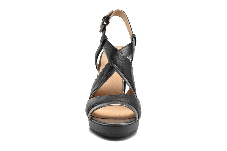 Sandales et nu-pieds Geox D MAUVELLE D D724LD Noir vue portées chaussures