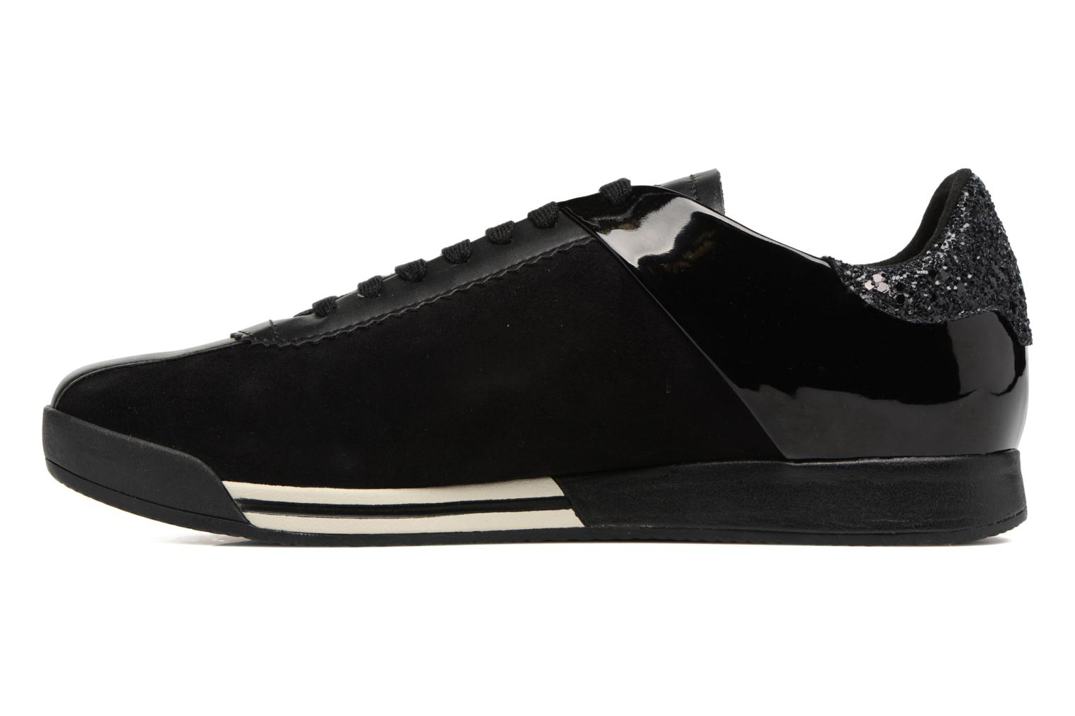 Trainers Geox D CHEWA A D724MA Black front view