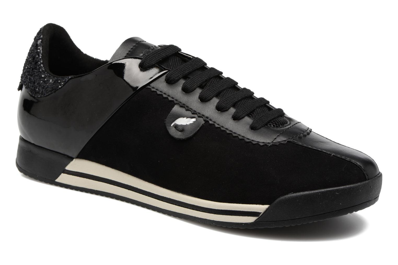 Sneakers Geox D CHEWA A D724MA Sort detaljeret billede af skoene