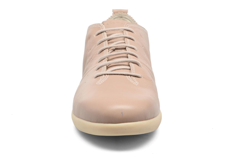 Baskets Geox D NEW DO A D724NA Beige vue portées chaussures