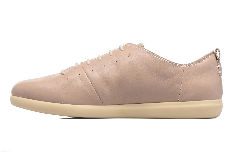 Sneaker Geox D NEW DO A D724NA beige ansicht von vorne