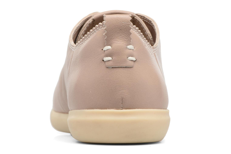 Sneaker Geox D NEW DO A D724NA beige ansicht von rechts