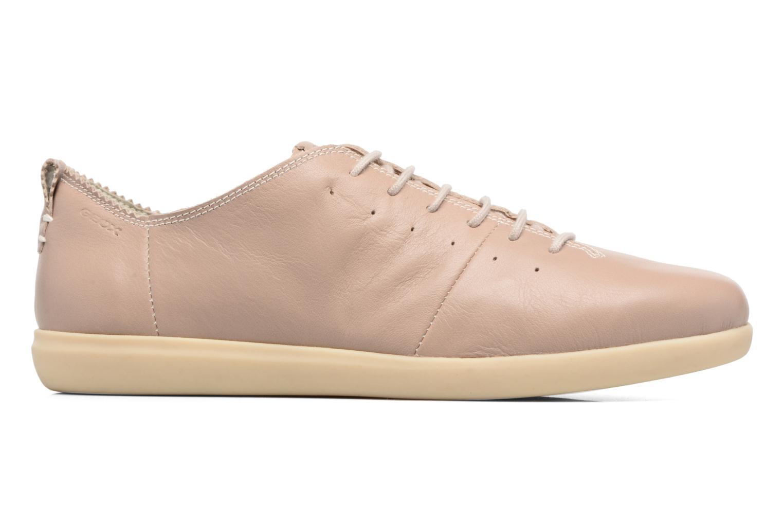 Sneaker Geox D NEW DO A D724NA beige ansicht von hinten