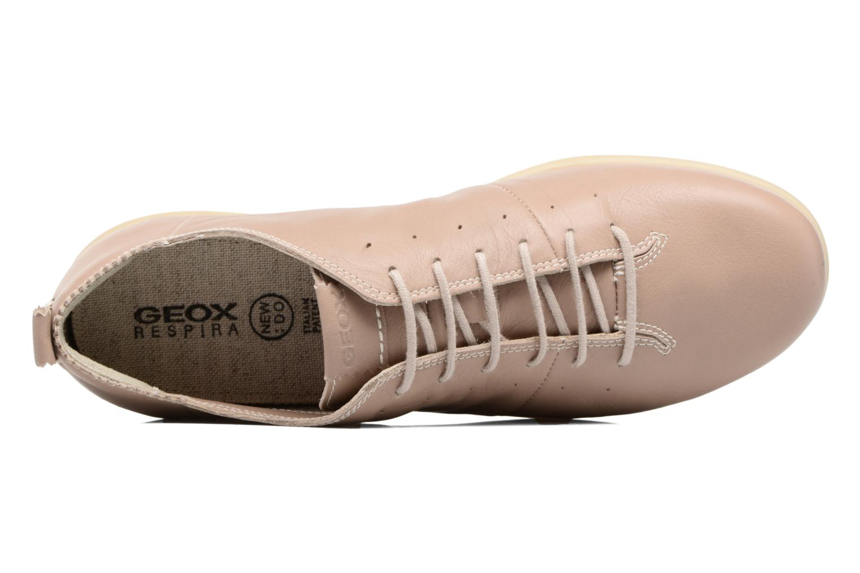 Sneaker Geox D NEW DO A D724NA beige ansicht von links