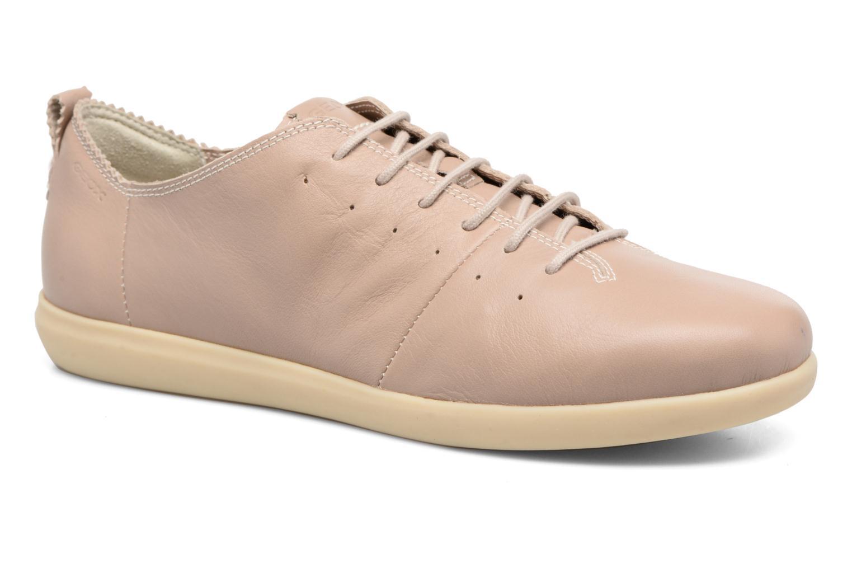 Sneaker Geox D NEW DO A D724NA beige detaillierte ansicht/modell