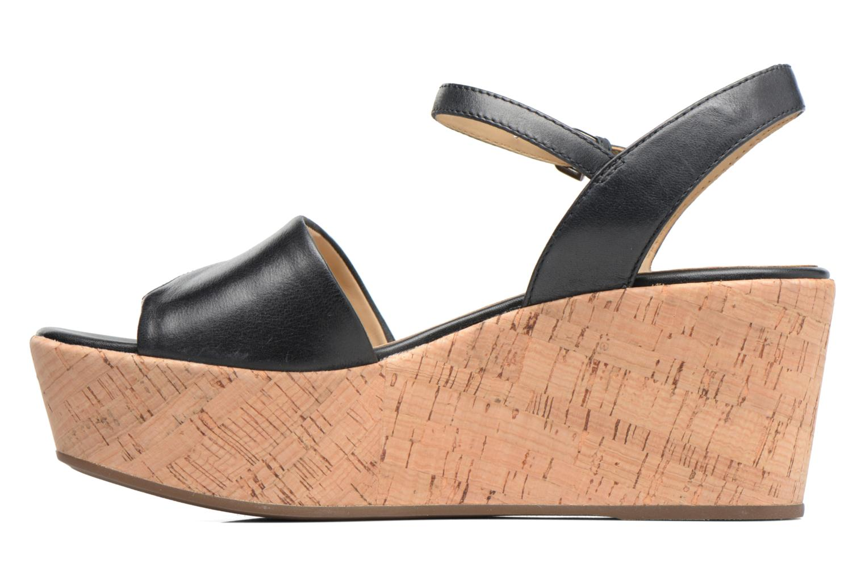 Sandali e scarpe aperte Geox D SAKELY A D724VA Nero immagine frontale