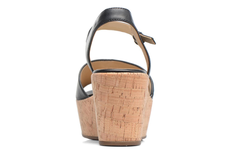 Sandali e scarpe aperte Geox D SAKELY A D724VA Nero immagine destra