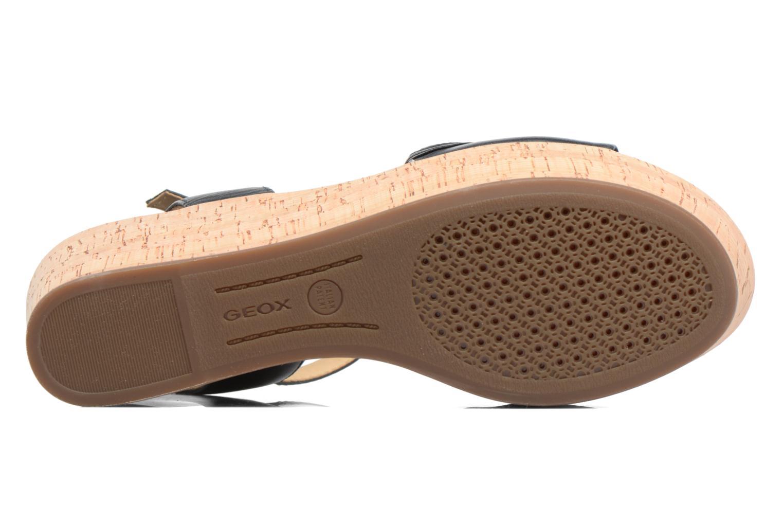 Sandali e scarpe aperte Geox D SAKELY A D724VA Nero immagine dall'alto