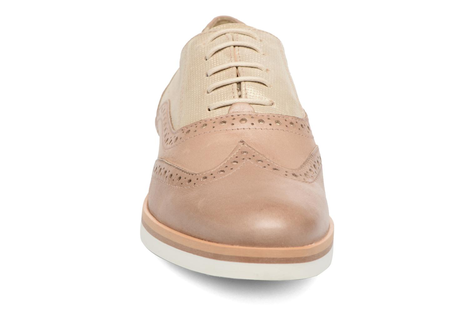 Lace-up shoes Geox D JANALEE G D725AG Bronze and Gold model view