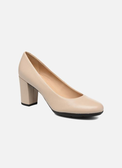 63787841a3c Geox D ANNYA A D725FA (Beige) - High heels chez Sarenza (281489)
