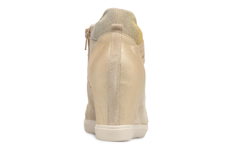 Sneakers Geox D ELENI C D7267C Oro e bronzo immagine destra