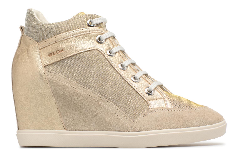 Sneakers Geox D ELENI C D7267C Oro e bronzo immagine posteriore