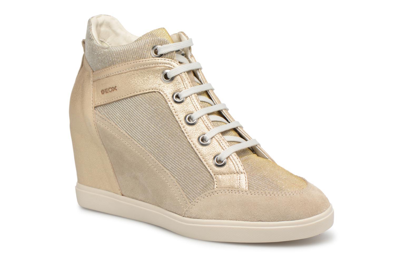 Sneakers Geox D ELENI C D7267C Oro e bronzo vedi dettaglio/paio
