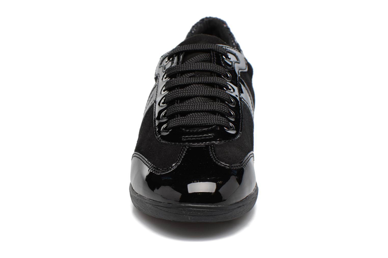 Sneaker Geox D MYRIA A D7268A schwarz schuhe getragen