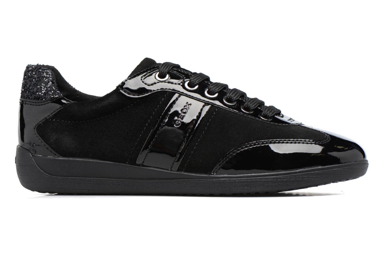 Sneaker Geox D MYRIA A D7268A schwarz ansicht von hinten
