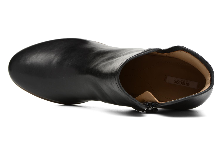 Bottines et boots Geox D LUCINDA B D7270B Noir vue gauche