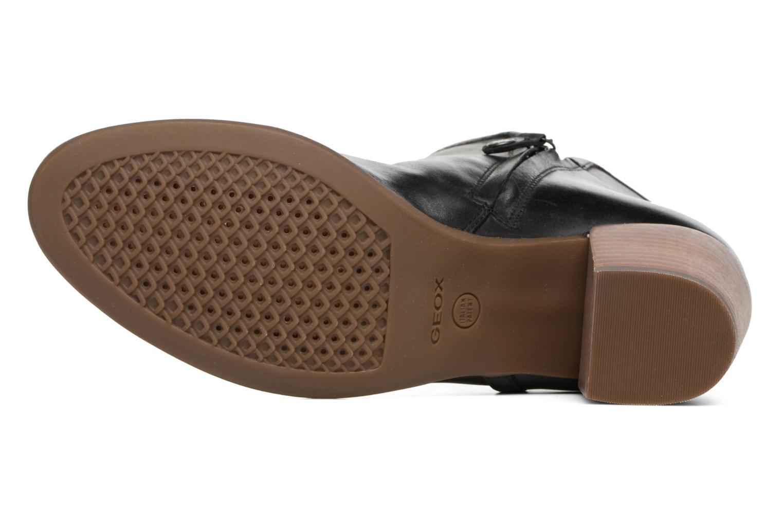Bottines et boots Geox D LUCINDA B D7270B Noir vue haut