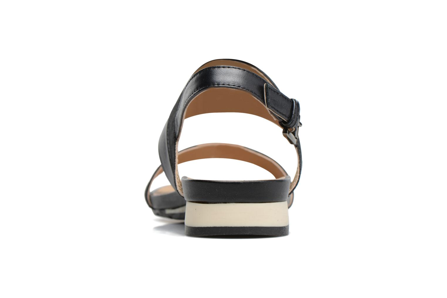 Sandals Geox D FORMOSA C D7293C Black view from the right