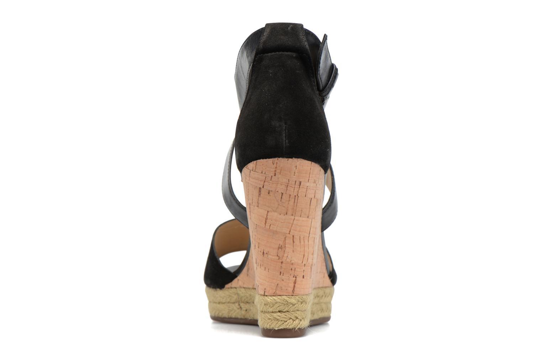 Sandales et nu-pieds Geox D JANIRA E D72P6E Noir vue droite