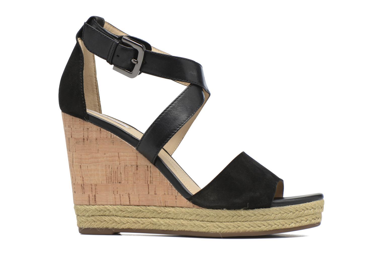 Sandales et nu-pieds Geox D JANIRA E D72P6E Noir vue derrière