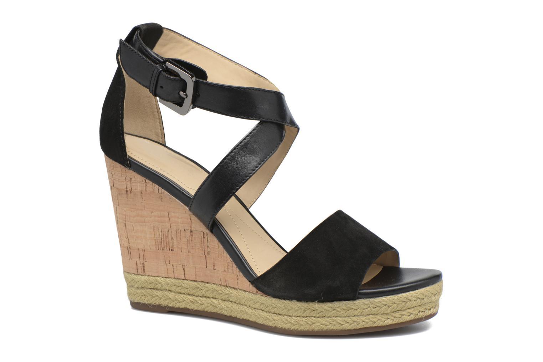 Sandales et nu-pieds Geox D JANIRA E D72P6E Noir vue détail/paire